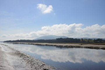 The Boathouse Cafe - View of Criffel and the River Nith